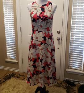 Ladies Ann Taylor linen dress